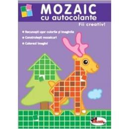 Mozaic cu autocolante - Fii creativ!, editura Aramis