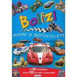 Bolizi, masini si motociclete cu 40 de abtibilduri, editura Girasol