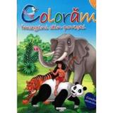 Coloram 2: Imagini din povesti (Contine abtibilduri), editura Girasol