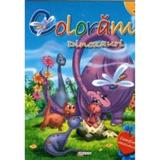 Coloram 3: Dinozauri (Contine abtibilduri), editura Girasol