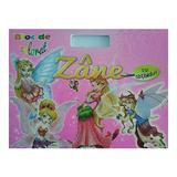 Zane - Bloc de colorat cu abtibilduri, editura Girasol