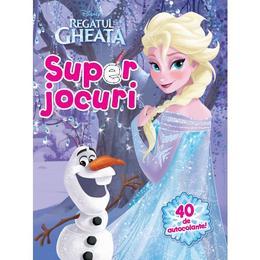 Disney Regatul de gheata - Superjocuri (40 de autocolante), editura Litera