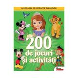 200 de jocuri si activitati vol.2 Disney Junior, editura Litera