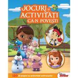 Jocuri si activitati ca-n povesti. Disney Junior, editura Litera