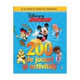 200 de jocuri si activitati. Disney Junior, editura Litera