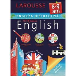 Engleza distractiva Larousse 8-9 ani, editura Meteor Press
