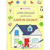 Limba engleza. Primele cuvinte. Carte de colorat, editura Niculescu