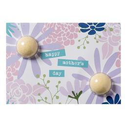 Set cadou Felicitare cu bile efervescente de baie 80g + plic Happy Mother Day, Bomb Cosmetics de la esteto.ro
