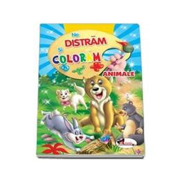 Ne distram si coloram - Animale, editura Aramis