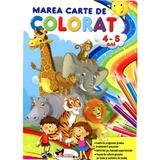 Marea carte de colorat 4-5 ani, editura Aramis