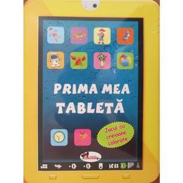 Prima mea tableta - Jocul cu creioane colorate, editura Aramis