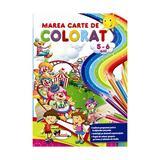 Marea carte de colorat 5-6 ani, editura Aramis