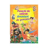 Aventuri de poveste - Povesti de colorat, editura Aramis