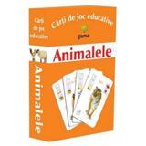 Animalele - Carti de joc educative , editura Gama