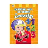 Castelul meu de jocuri si activitati – Portocalie, editura Girasol
