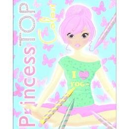 Princess Top - Colour (bleu), editura Girasol