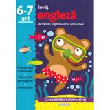 Activitati ingenioase si educative: Invat engleza 6-7 ani, editura Girasol