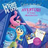Aventuri in tara imaginatiei - Intors pe dos - Citesc si ma joc!, editura Litera