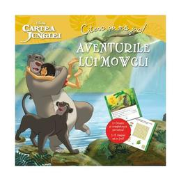 Aventurile lui Mowgli. Cartea junglei - Citesc si ma joc!, editura Litera