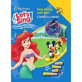 Let's sing! - Canta cu mine! - Sing along with me! - Carte+CD, editura Litera