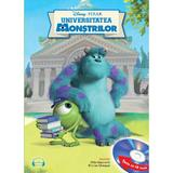 Disney Pixar - Universitatea Monstrilor + CD (Lectura: Florian Ghimpu), editura Litera