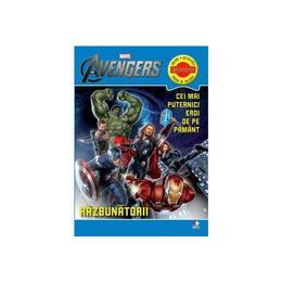 Marvel - Razbunatorii. Cei mai puternici de pe pamant - Jocuri, activitati, pagini de colorat, editura Litera