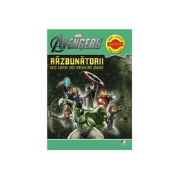 Marvel - Razbunatorii. Uniti contra unei amentintari comune - Jocuri, activitati, pagini de colorat, editura Litera