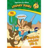 Looney Tunes - Aventurile coiotului Wile E. - Supercarte de colorat, editura Litera
