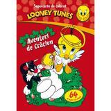 Looney Tunes - Aventuri de Craciun - Supercarte de colorat, editura Litera