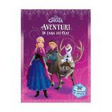 Aventuri in tara lui Olaf - Disney Regatul de Gheata (32 de planse de colorat), editura Litera