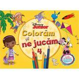 Disney Junior - Coloram si ne jucam 4. Planse de colorat cu activitati distractive, editura Litera