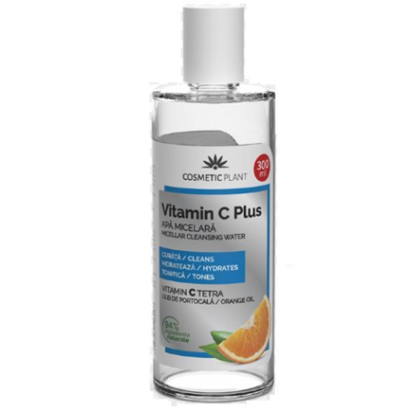 Apa Micelara Vitamina C Plus Cosmetic Plant, 300 ml imagine produs
