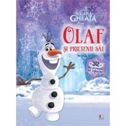 Olaf si prietenii sai - Disney Regatul de Gheata (32 de planse cu activitati), editura Litera