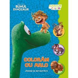 Disney Bunul Dinozaur Coloram Cu Arlo Jocuri Si