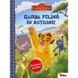 Disney - Garda felina in actiune! 32 de planse de colorat, editura Litera