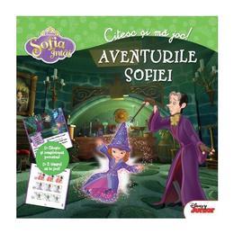 Disney - Sofia Intai. Citesc si ma joc. Aventurile Sofiei, editura Litera