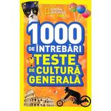 1000 de intrebari Teste de cultura generala vol.5 - National Geographic Kids, editura Litera