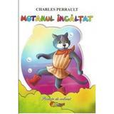 Motanul Incaltat - Carte de colorat, editura Roxel Cart