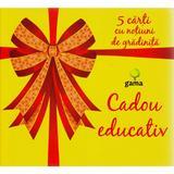Cadou educativ galben set 2 - 5 carti cu notiuni de gradinita, editura Gama