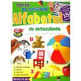 Alfabetul - Carte De Activitati Cu Autocolante 3-6 Ani, editura Litera