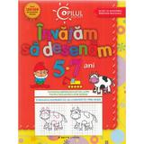 Copilul destept - Invatam sa desenam 5-7 ani Ed.2013, editura Litera