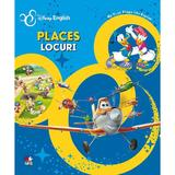 Disney English - Locuri. Places, editura Litera