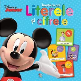Disney - Invata cu noi literele si cifrele, editura Litera