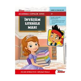 Academia copiilor isteti - Invatam literele mari - 3+, editura Litera