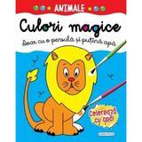 Culori magice - Animale, editura Girasol