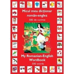 Micul meu dictionar roman-englez 500 de cuvinte, editura Rao