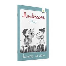 Montessori. Flori - Activitati de citire, editura Gama