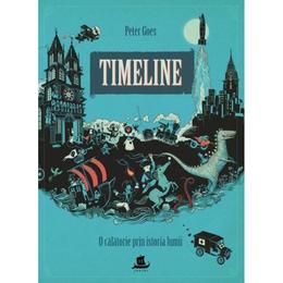Timeline. O calatorie prin istoria lumii, editura Humanitas