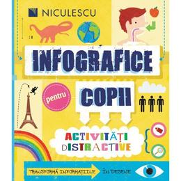 Infografice pentru copii - Susan Martineau, editura Niculescu