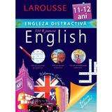 Larousse Engleza distractiva 11-12 ani, editura Meteor Press